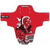 Road Rage Red mudguard