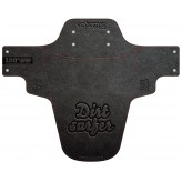 Dirtsurfer Embossed Leather Logo mudguard
