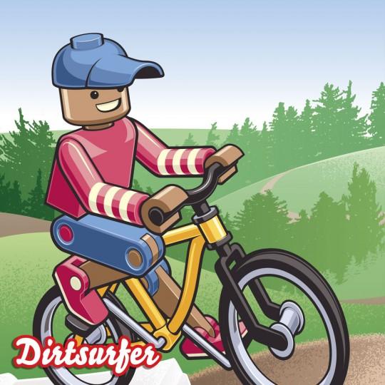Toy Rider mudguard