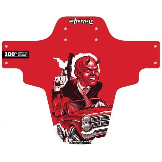 Road Rage Red mudguard