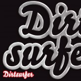 Dirtsurfer Chrome Logo mudguard
